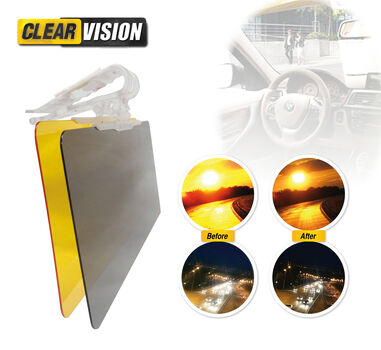 Nu 56% korting: Clear Vision auto zonneklep