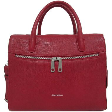 Gigi Fratelli Dames Leren Laptoptas / Tablet tas 10 inch Romance Business ROM8010 Rood
