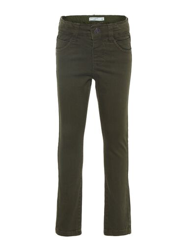 Name it Broek x-slim fit twill geweven