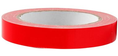 Creotime canvastape 25 meter x 19 mm rood