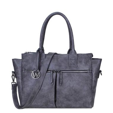 Wimona Catarina-One Dames Laptoptas grey