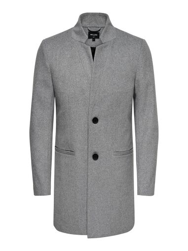 ONLY & SONS Trenchcoat Wollen