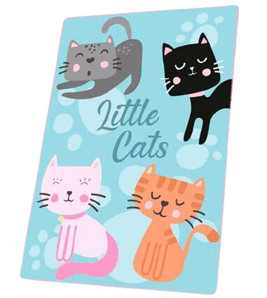 Kids Licensing fleecedeken Little Cats 100 x 150 cm polyester