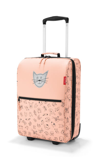 Reisenthel Trolley XS Kids Reiskoffer - Kind - Polyester - 12L - Cats&Dogs Rose Roze