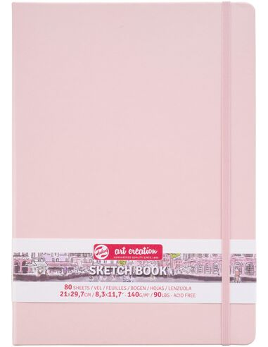 Royal Talens Talens Art Creation Schetsboek 21x30 cm 140gr 80 vel Roze