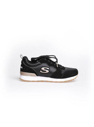 Skechers . goldn gurl zwart  Zwart
