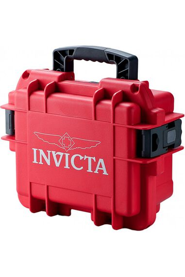 Invicta Horlogebox Rood - 3 Slot DC3RED