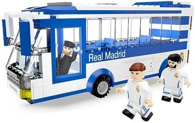 Real Madrid Spelersbus met 3 figuren - NanoStars