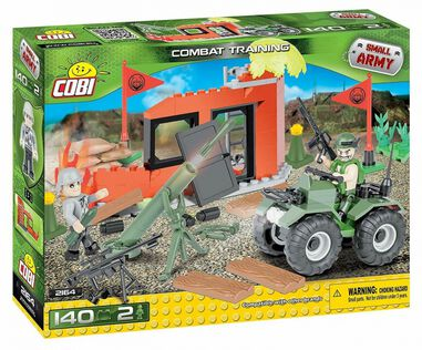 Cobi Small Army Combat Training bouwset 140-delig 2164