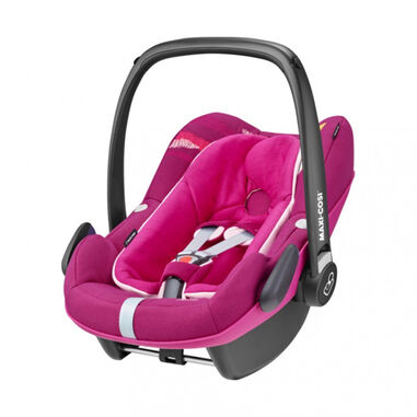 Maxi-Cosi Autostoel Pebble Plus Frequency Pink + Zomerhoes