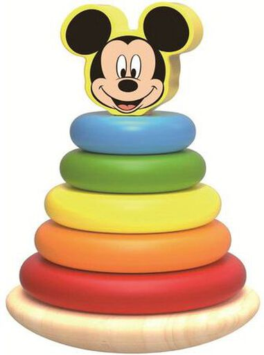 Tuimelring hout Mickey Mouse 12+ mnd