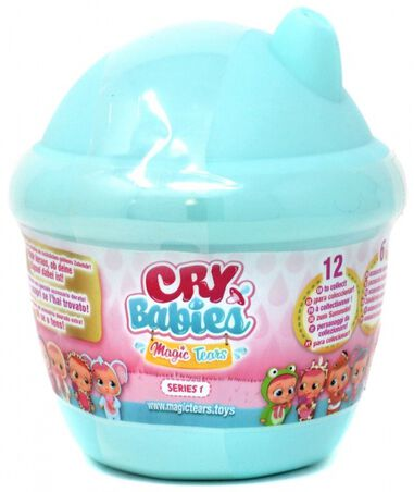IMC mini-pop Cry Babies Magic Tears mintgroen