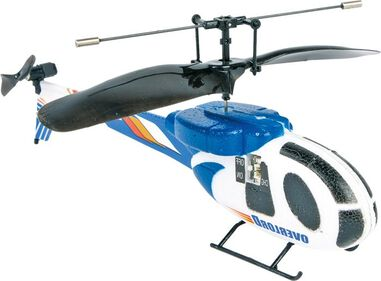 Small Foot Infrarood Helikopter Blauw