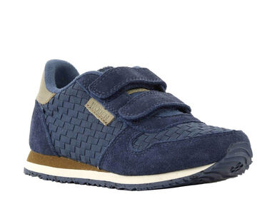 Woden Ydun weaved kids blauw