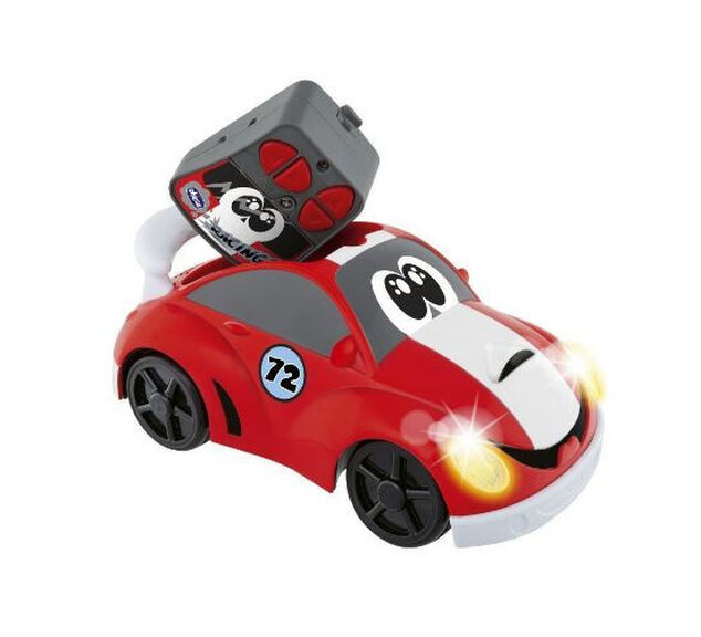 Chicco speelgoedauto RC Johnny Coupé junior rood 2-delig