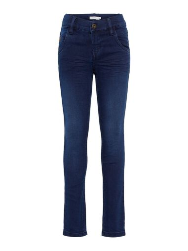 Name it X-slim fit jeans Lichtblauwe denim