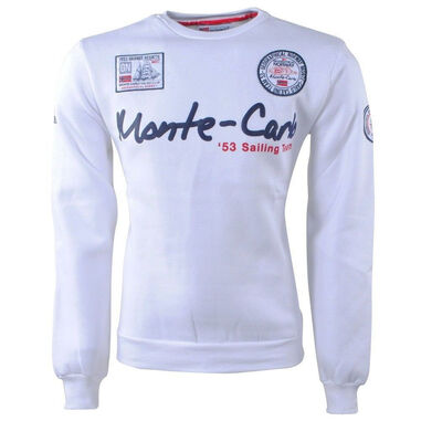 Geographical Norway heren sweater monte carlo ronde hals folo