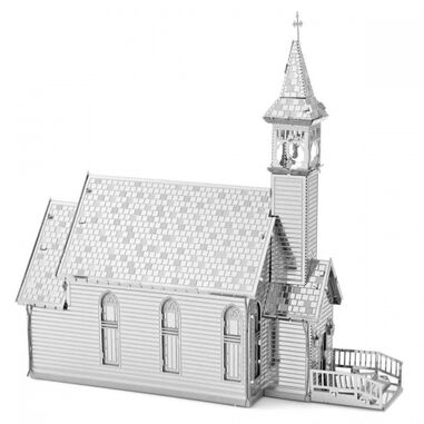 Metal Earth Old Country Church modelbouwset