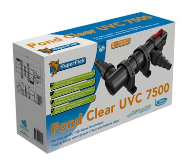 Superfish pondclear uvc 9w/7.500 liter
