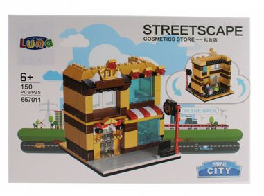 Luna Mini City Streetscape Cosmetics Store bouwset 150-delig (657011)