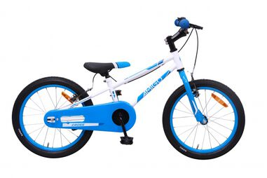 AMIGO Cross 18 Inch Jongens V-Brake Blauw/Wit
