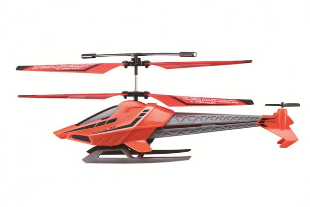 Sky Rover Outlaw helikopter 25 cm rood