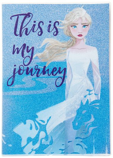 Frozen 2 Glitter Premium Notebook
