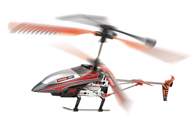 Carrera RC 2,4GHz helikopter Neon Storm 2 36,5 cm rood