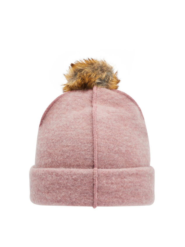 Name it Muts Faux fur pompon wollen