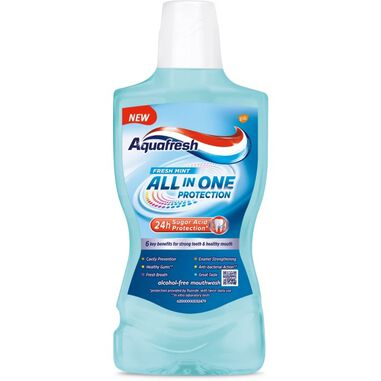 All In One Protection mondwater Verse Munt 500ml