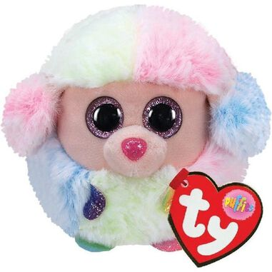 Ty Puffies Rainbow Poodle 10 Cm