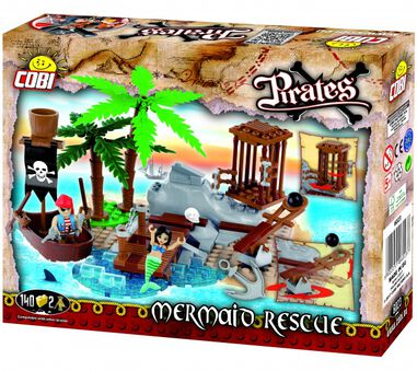 Cobi Pirates bouwset Mermaid rescue 142-delig (6023)