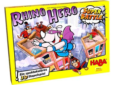 evenwichtsspel Rhino Hero - Super Battle (DU)