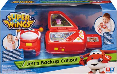 Speelfiguren Backup Callout Super Wings Jett
