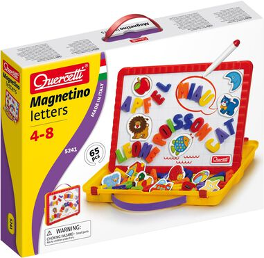 Magneetbord Quercetti letters 65-delig