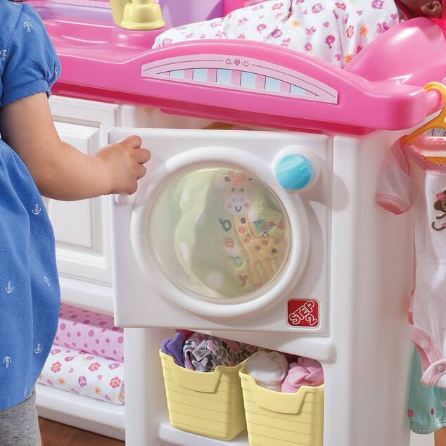Step2 commode Love & Care Deluxe Nursery wit/roze 95 cm