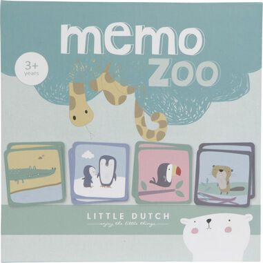 Little Dutch Memo Zoo Spel