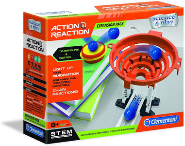 Clementoni Action & Reaction uitbreidingsset Trampolines