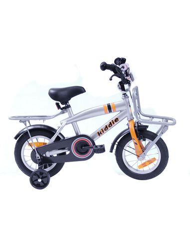 Kiddie Dutch Bike (V-Brake + Cb) J 12'' 1N Grijs