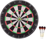 Johntoy Sports Active dartboard met 6 darts 45cm