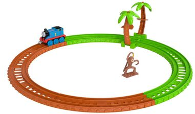 Fisher-Price Thomas & Friends Apenstreken junior bruin/groen 5-delig
