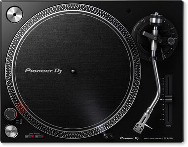 Pioneer DJ Direct Drive Turntable PLX-500-K
