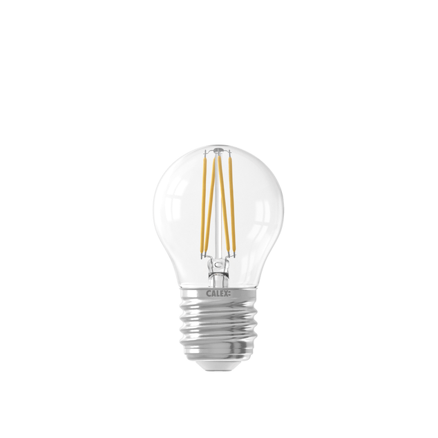 Smart LED Filament Clear Ball-lamp P45 E27 220-240V 4,5W