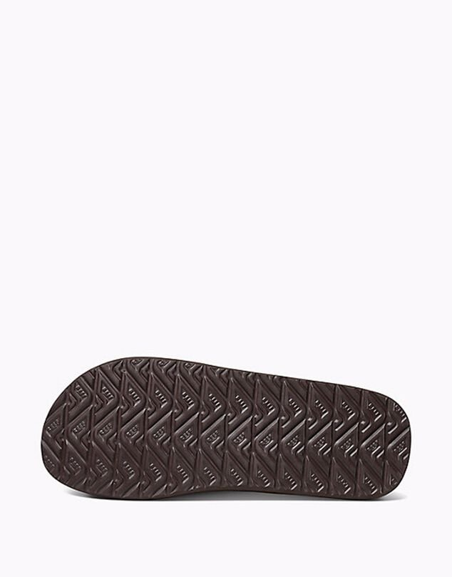 Reef Slipper ht prints brownblue palm
