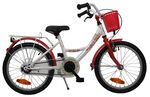 Bike Fun Poppy 16 Inch Meisjes Terugtraprem Wit