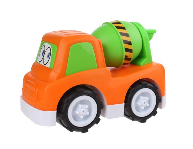 Free and Easy speelgoedauto Cementtruck 24 cm oranje
