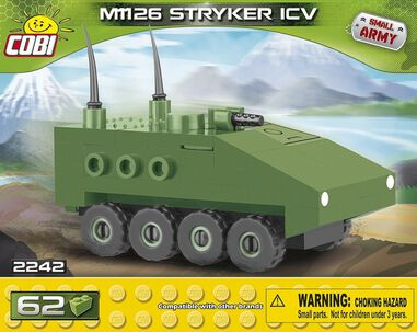Cobi Small Army M1126 Stryker bouwset 62-delig 2242