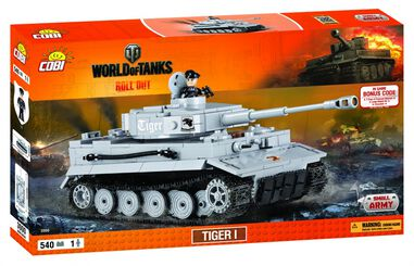 Cobi Small Army WOT Tiger I (3000)