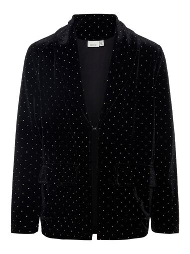 Name it Blazer versierde fluwelen
