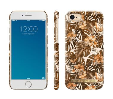 iDeal of Sweden Fashion Back Case Autumn Forest voor iPhone 8 / 7 / 6 / 6S